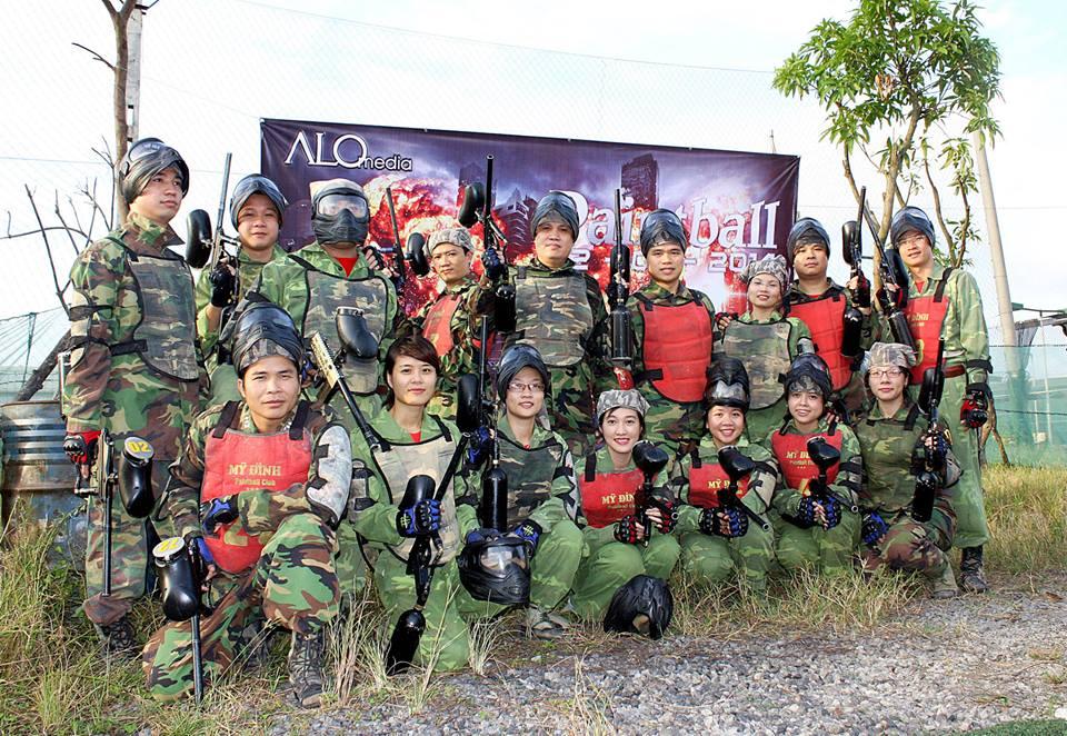 Chương trình Bắn súng sơn đầu tiên của ALO Media