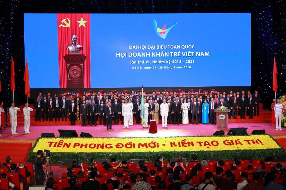 Đại hội doanh nhân trẻ Việt Nam khóa VI – 2018