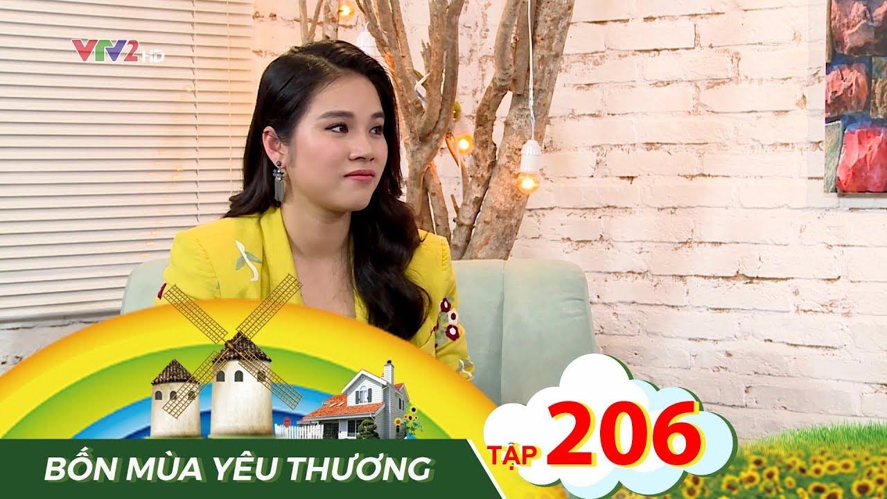 """Bốn mua yêu thương tập 206 – Vy Vân kết hôn sớm vì """"vỡ kế hoạch"""""""